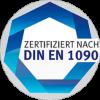 Zertifikat Din EN 1090